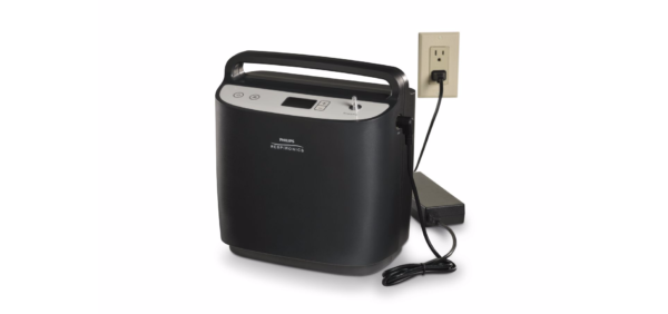 SIMPLYFLO STATIONARY OXYGEN CONCENTRATOR-plugged in